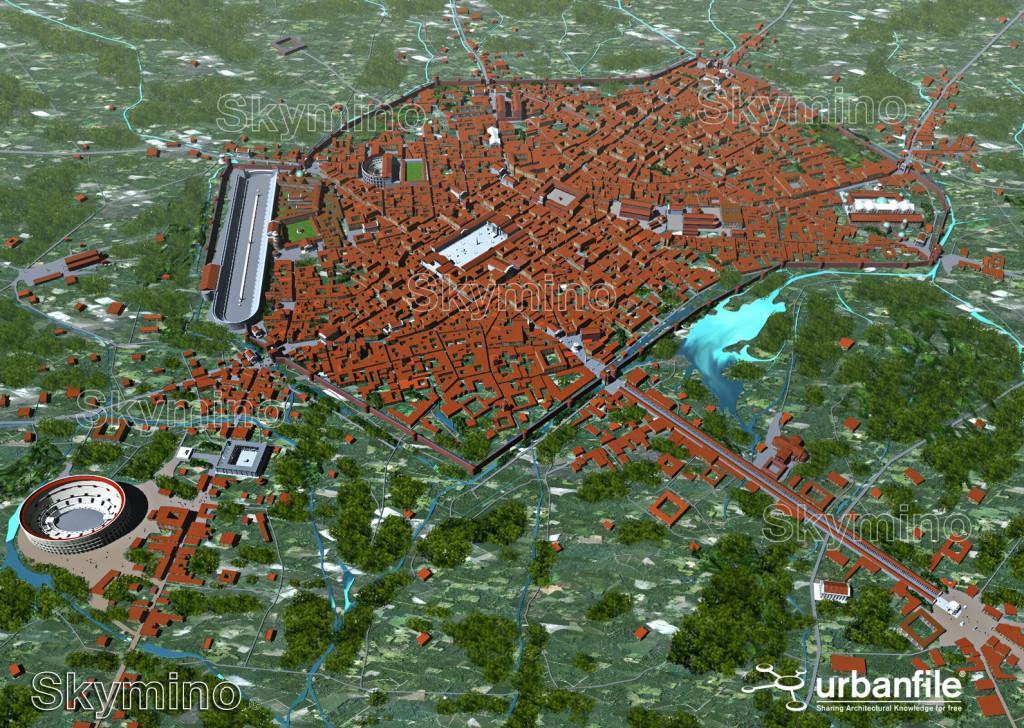 Milano_Romana_Aerea_1