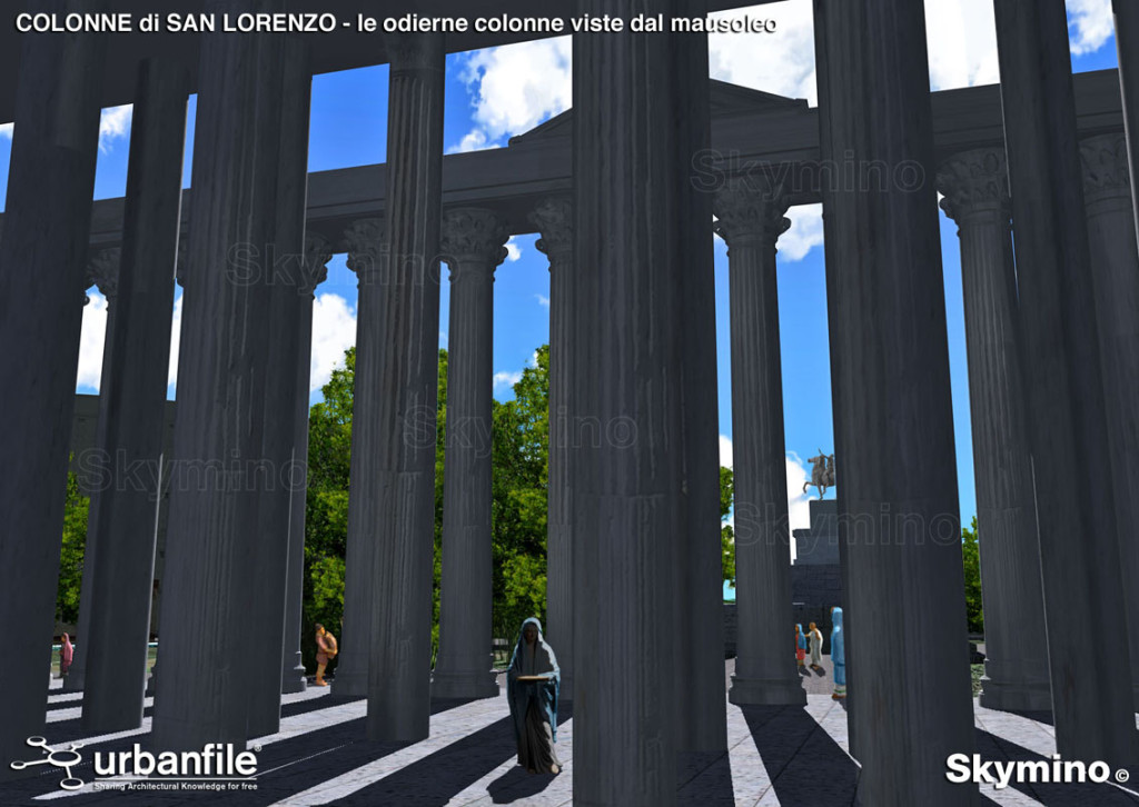 Milano_Romana_Ticinese_Colonne_San_Lorenzo