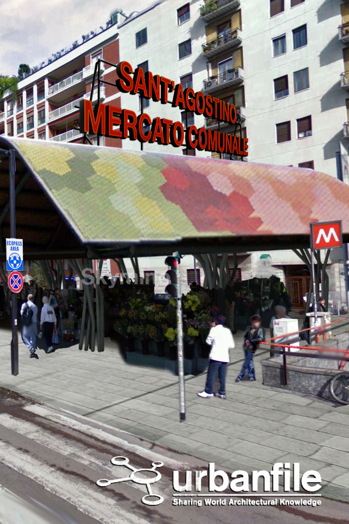 Milano porta genova il mercato in piazza sant 39 agostino - Milano porta genova treni ...