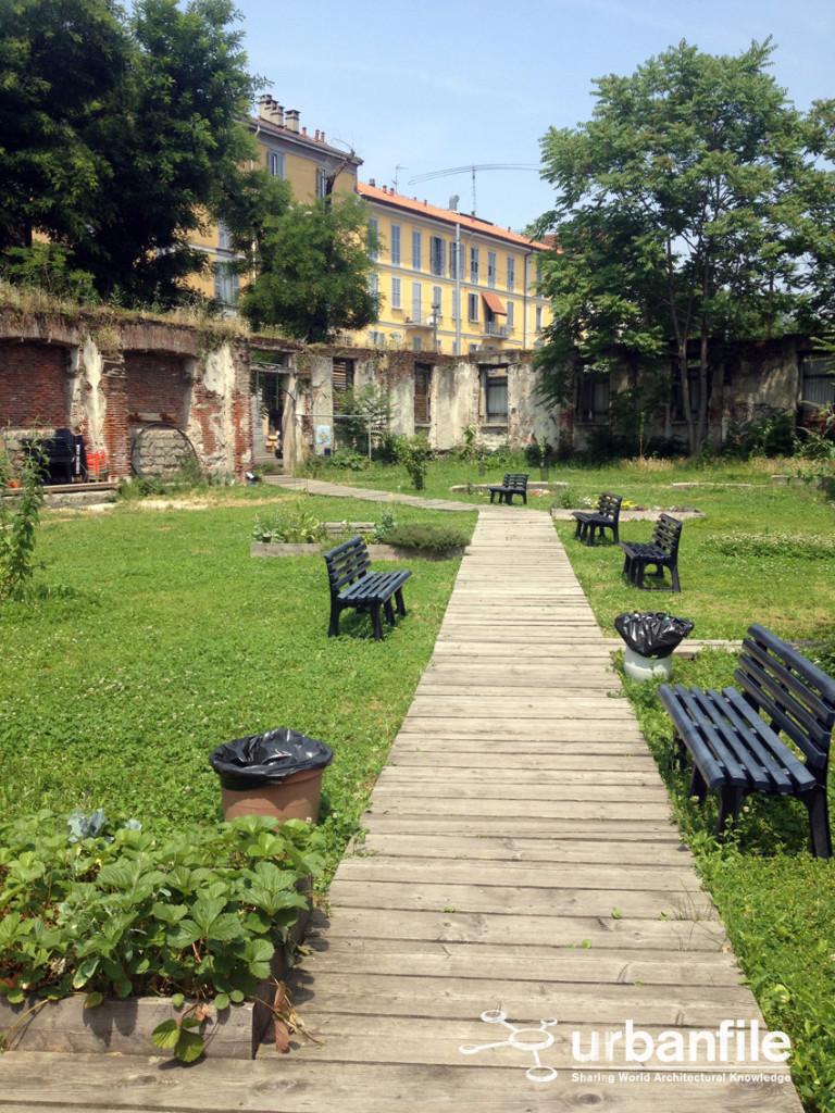 Milano porta volta il parco temporaneo in viale - Viali da giardino ...