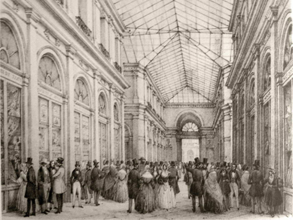 Galleria De Cristoforis - in una stampa