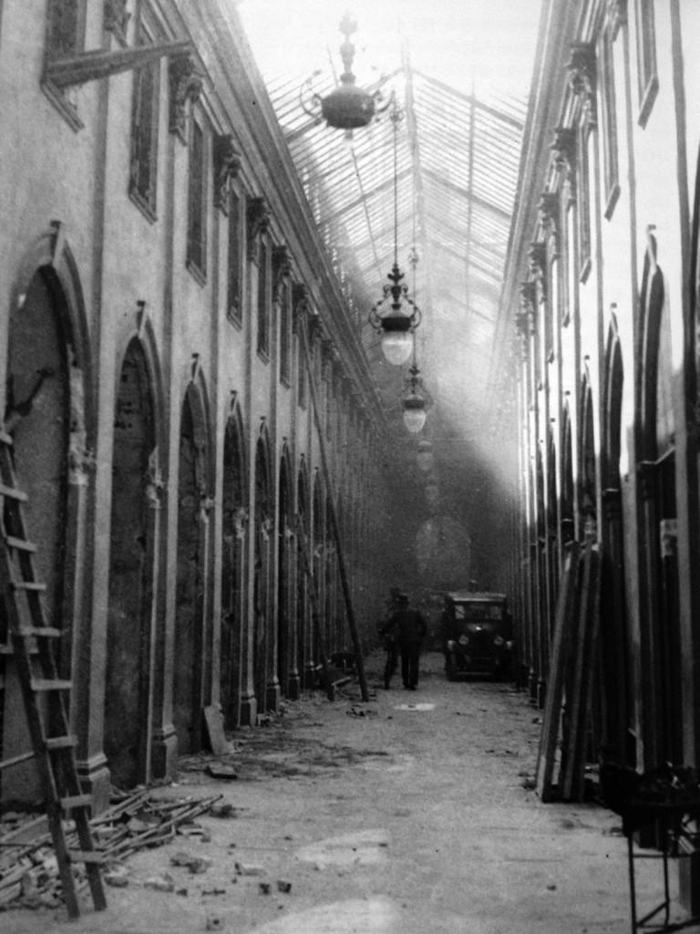 Galleria De Cristoforis - la demolizione 1935-36