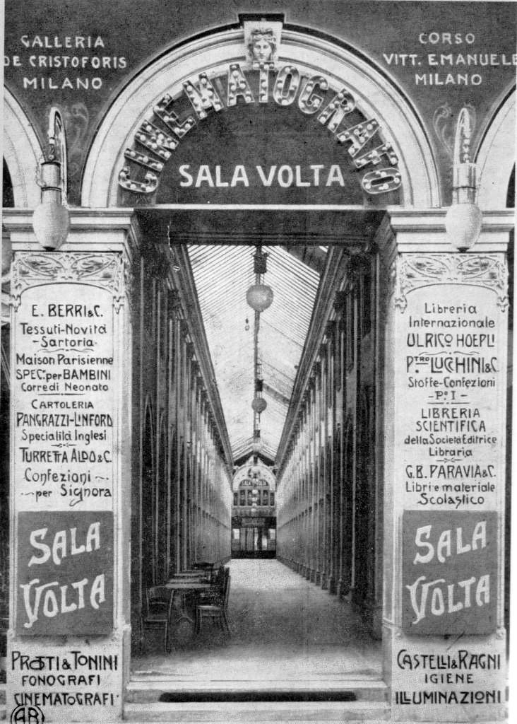 Galleria de Cristoforis ingresso e galleria