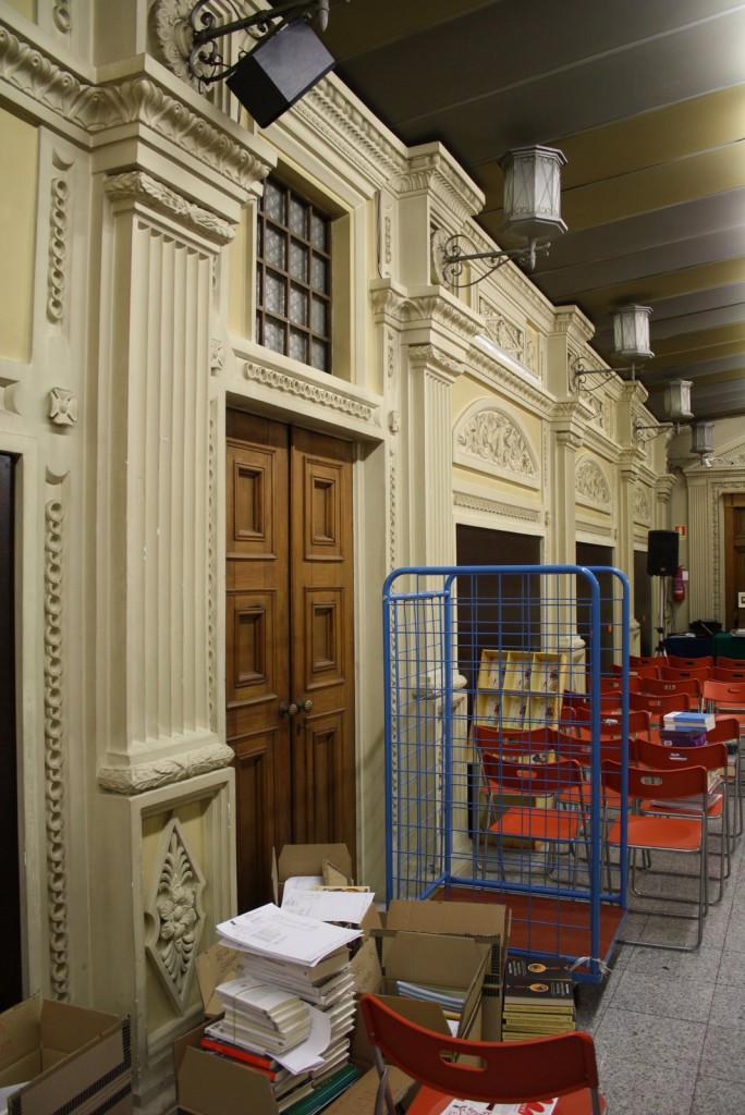 La Galleria ricostruita all'interno della Libreria Hoepli
