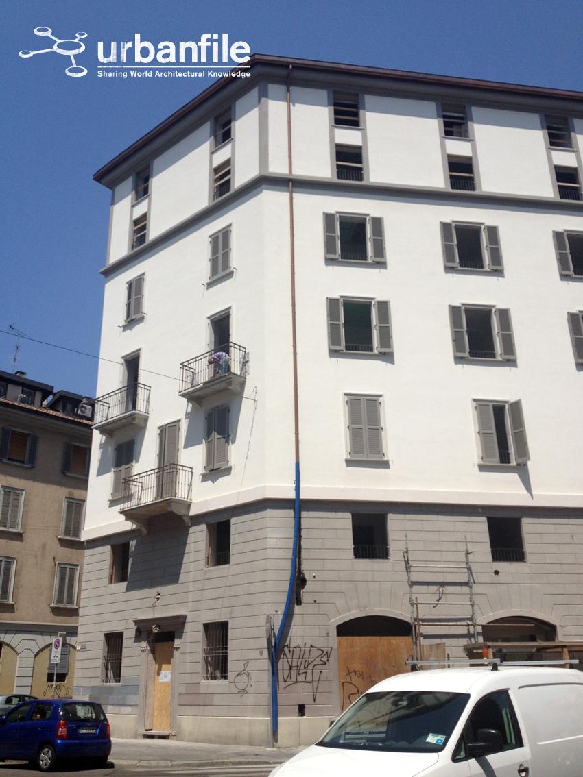 Milano porta genova nuovo sopralzo in via san vincenzo - Carabinieri porta genova milano ...