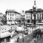 Piazza Cordusio anni '50