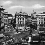 Piazza Cordusio anni 50