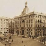 Piazza Cordusio e il Palazzo delle Generali - 1902