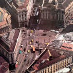 Piazza Cordusio negli anni 80