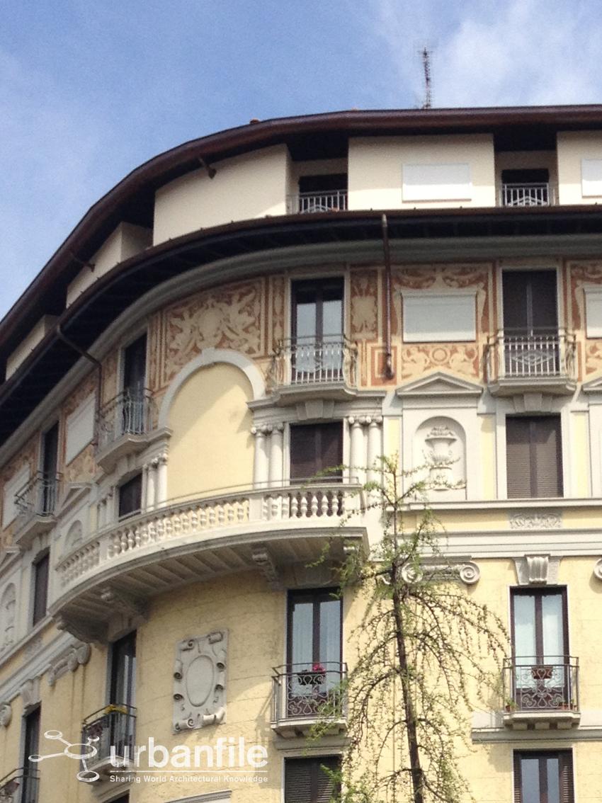 Milano loreto come rovinare un bel palazzo urbanfile for Piani di casa bungalow d epoca