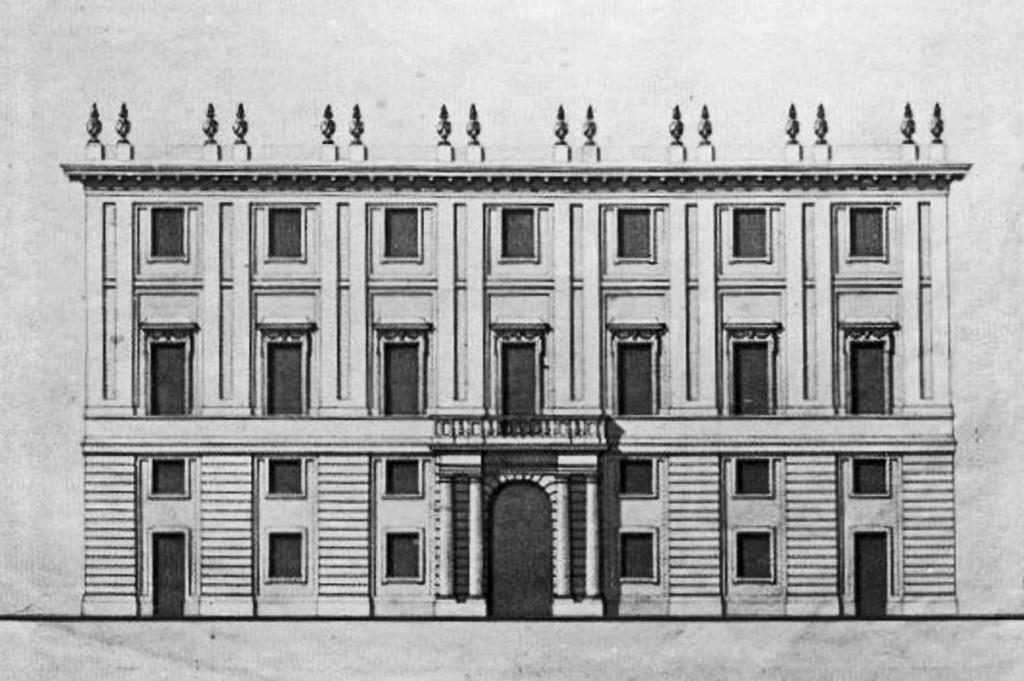 Il progetto di Piermarini per il teatro alla Canobbiana, poi detto Lirico