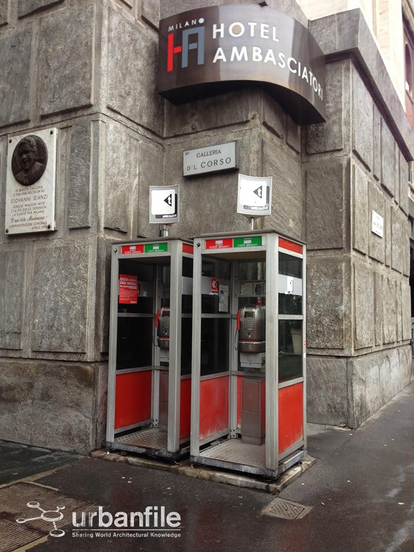 Milano pasquirolo le cabine rimosse e sostituite for Le cabine progetta le planimetrie