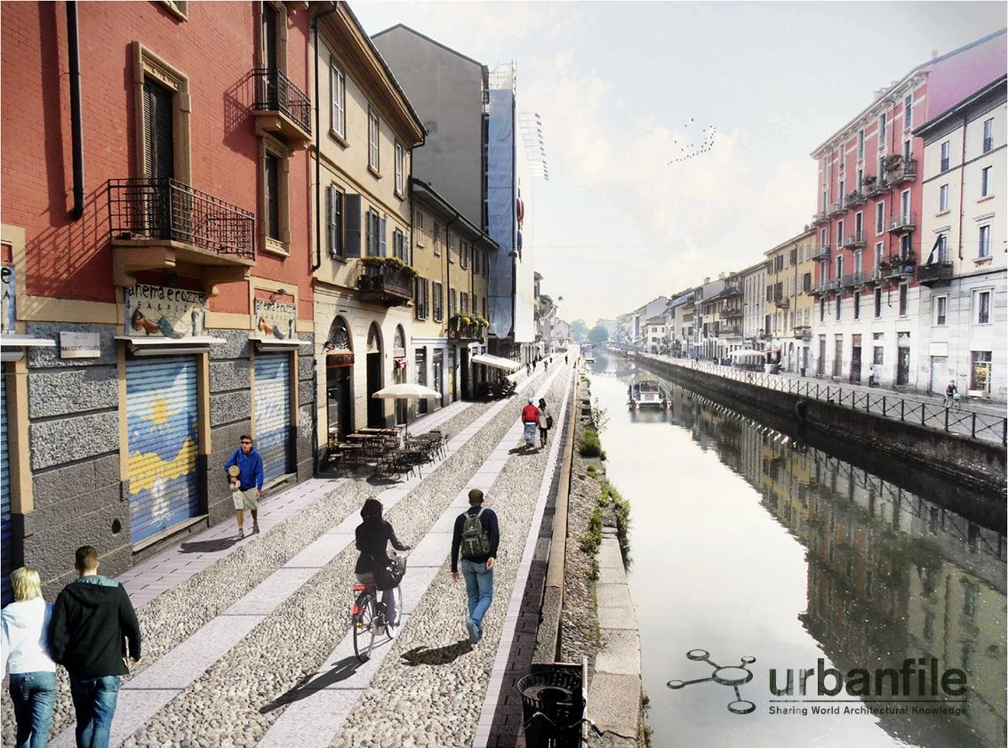 Milano navigli il prima e dopo dell 39 area pedonale for Il naviglio grande ristorante