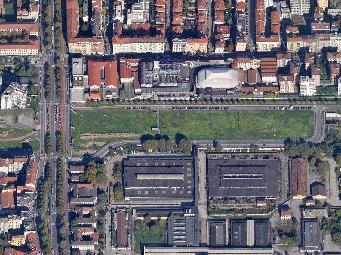 Milano Porta Vittoria La Striscia Verde Abbandonata