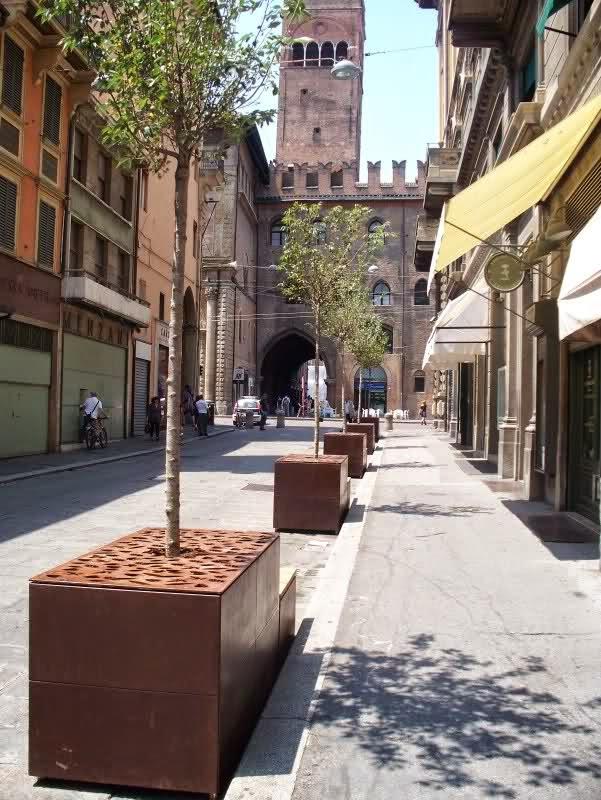 milano porta venezia proposta di arredo urbano per