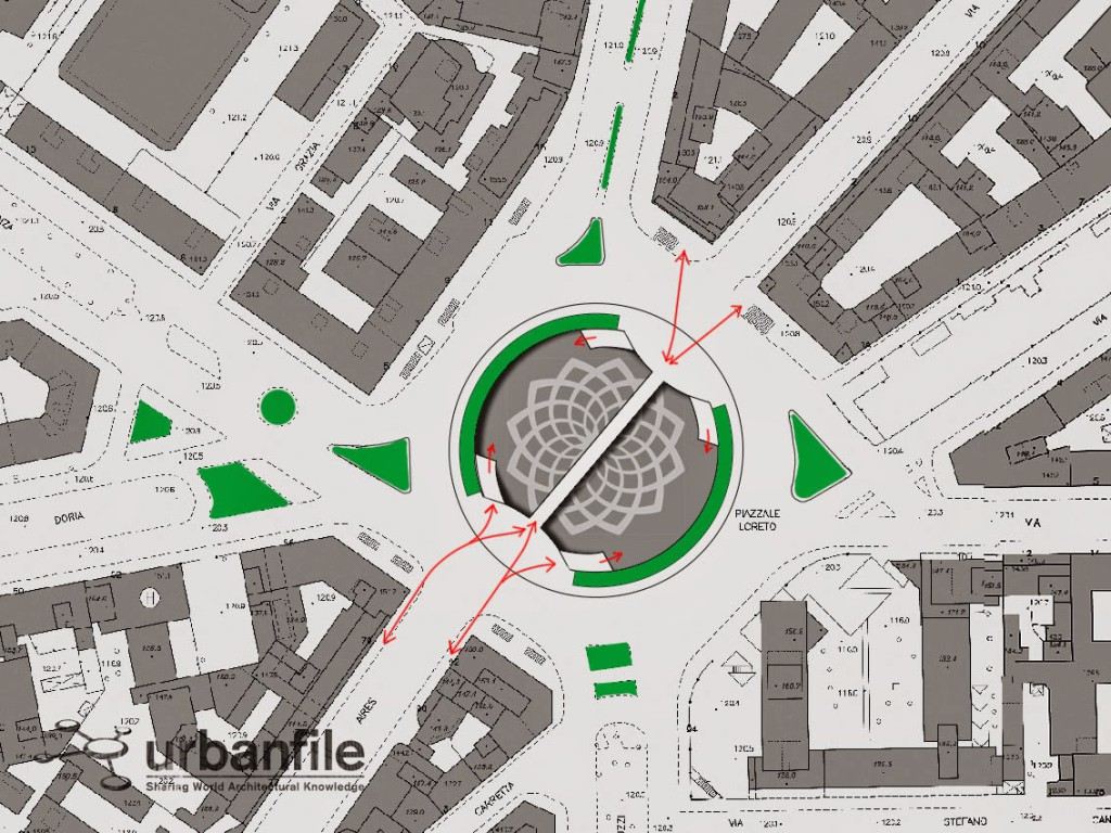Map Piazzale Loreto