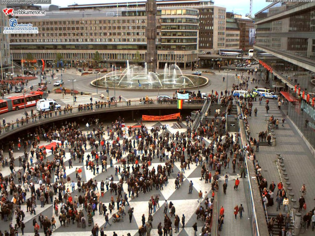 Sergels Torg Stoccolma 1