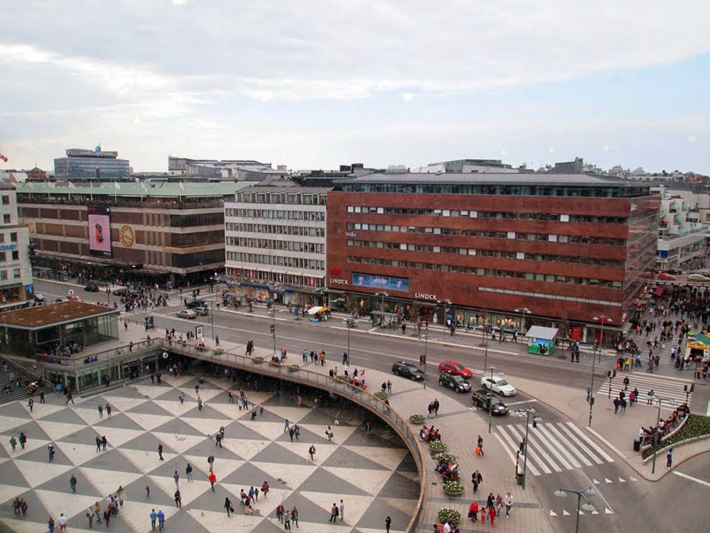 Sergels Torg Stoccolma 2