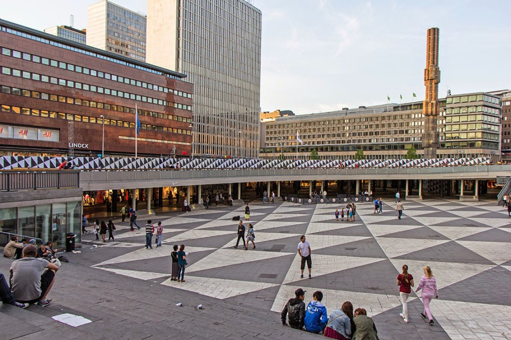 Sergels Torg Stoccolma 3