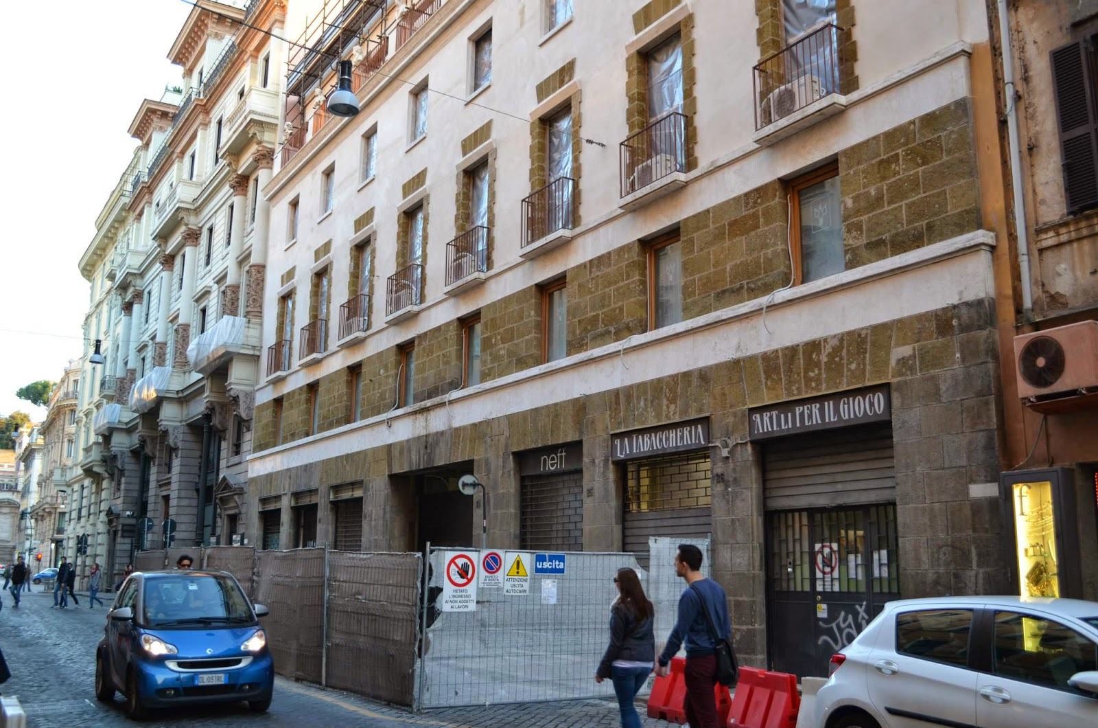 Roma aggiornamenti sulla nuova rinascente urbanfile blog for Rinascente via del tritone ristorante