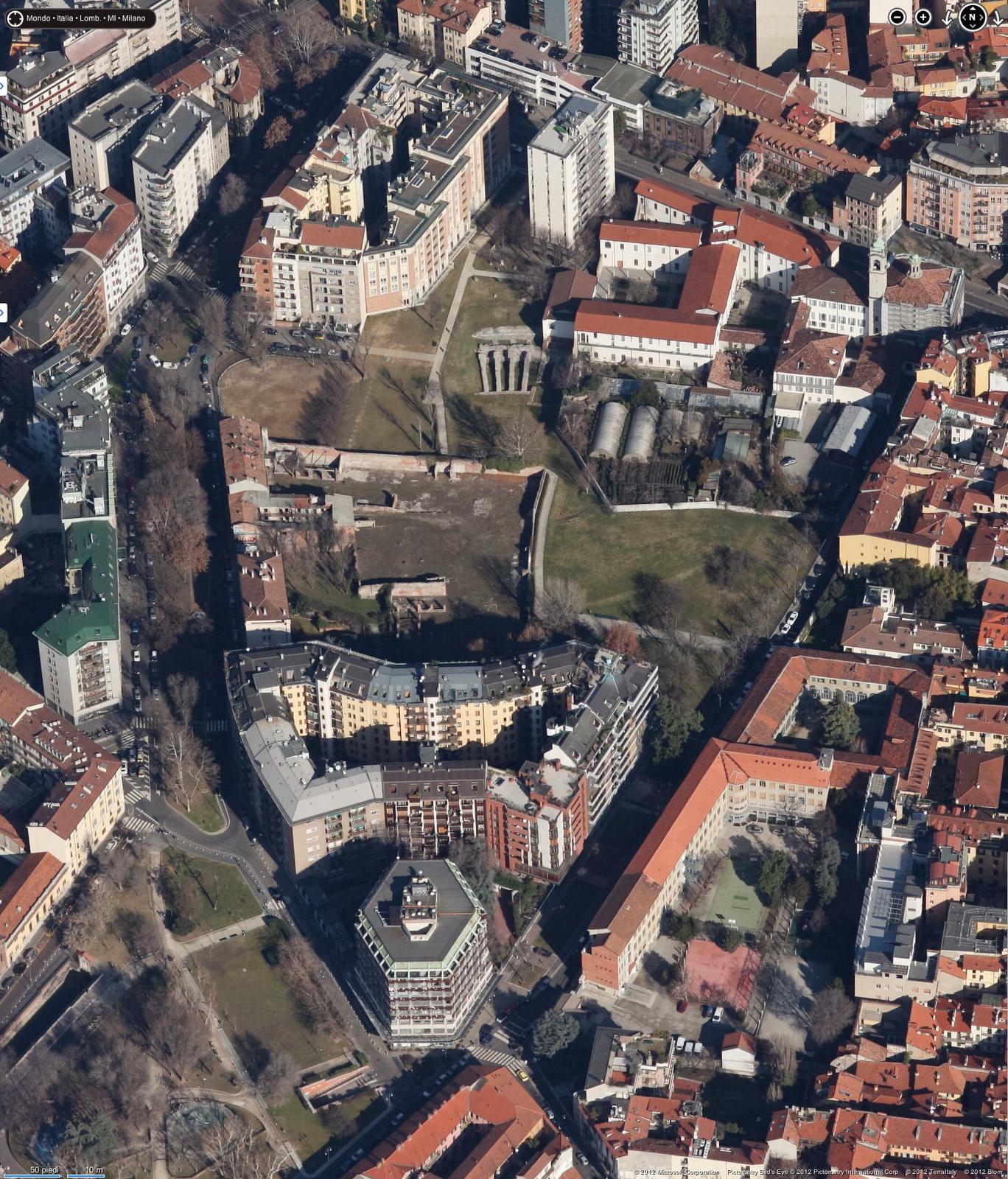 Milano Porta Ticinese Il Parco Dell Anfiteatro E La Conca Del Naviglio Urbanfile Blog
