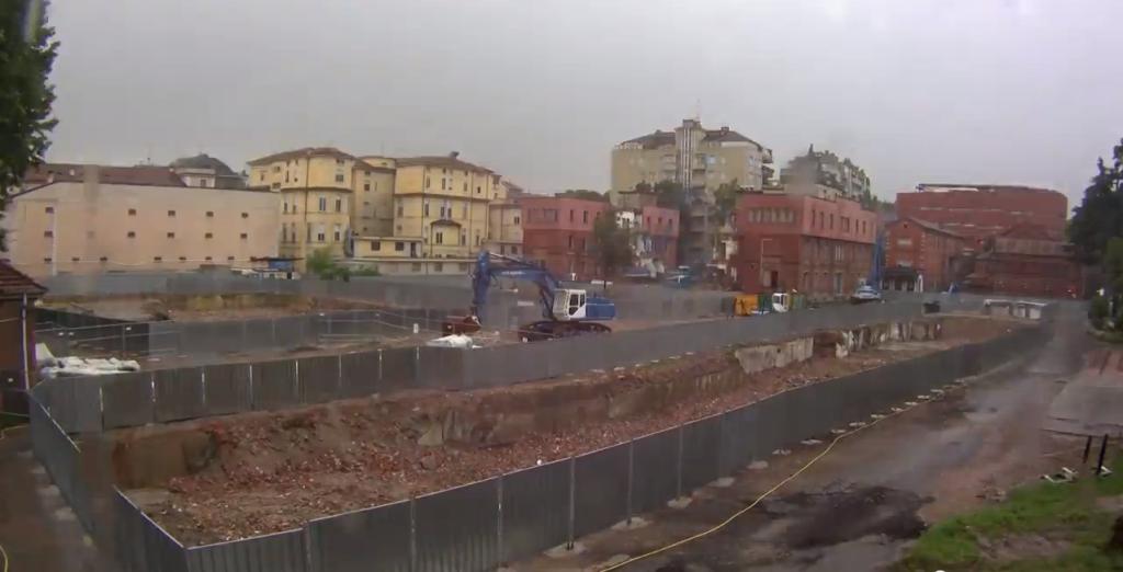 Demolizione Policlinico Milano 2