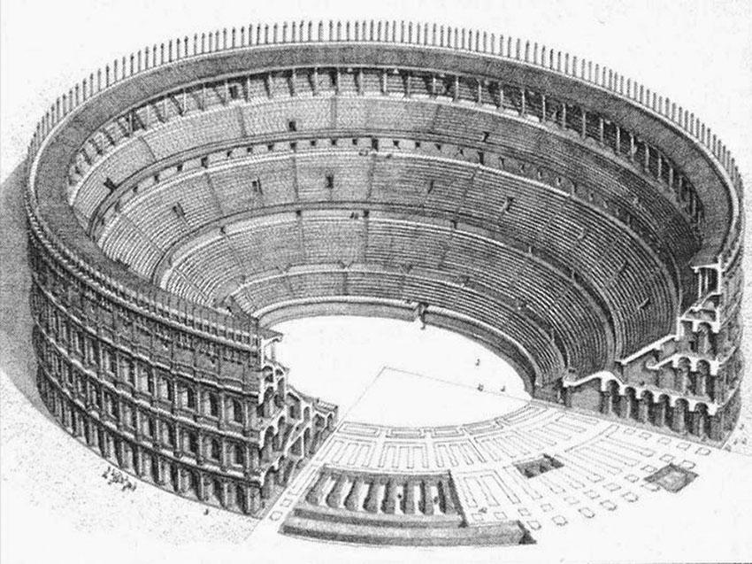 Anfiteatro Romano Milano 1