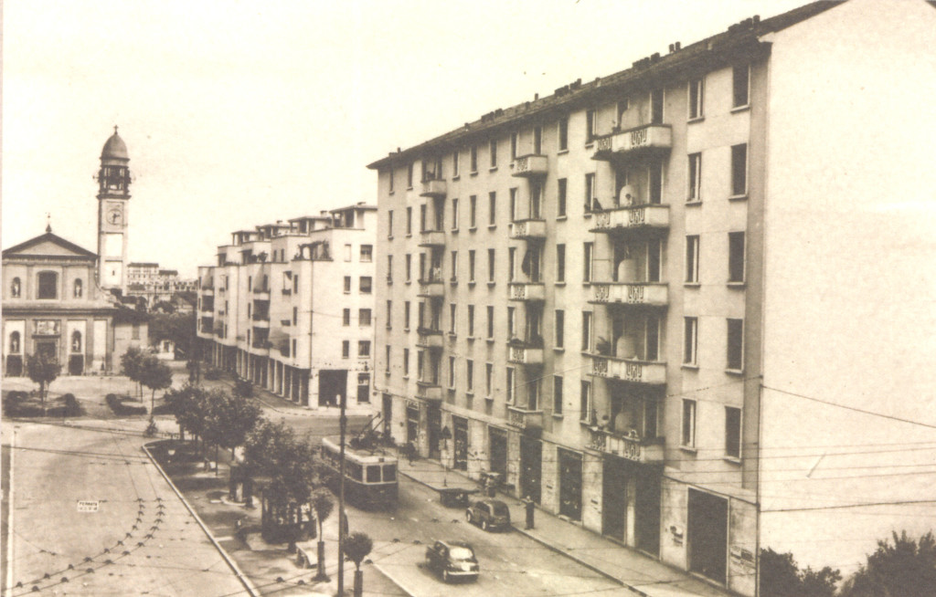 Piazza Greco 1950