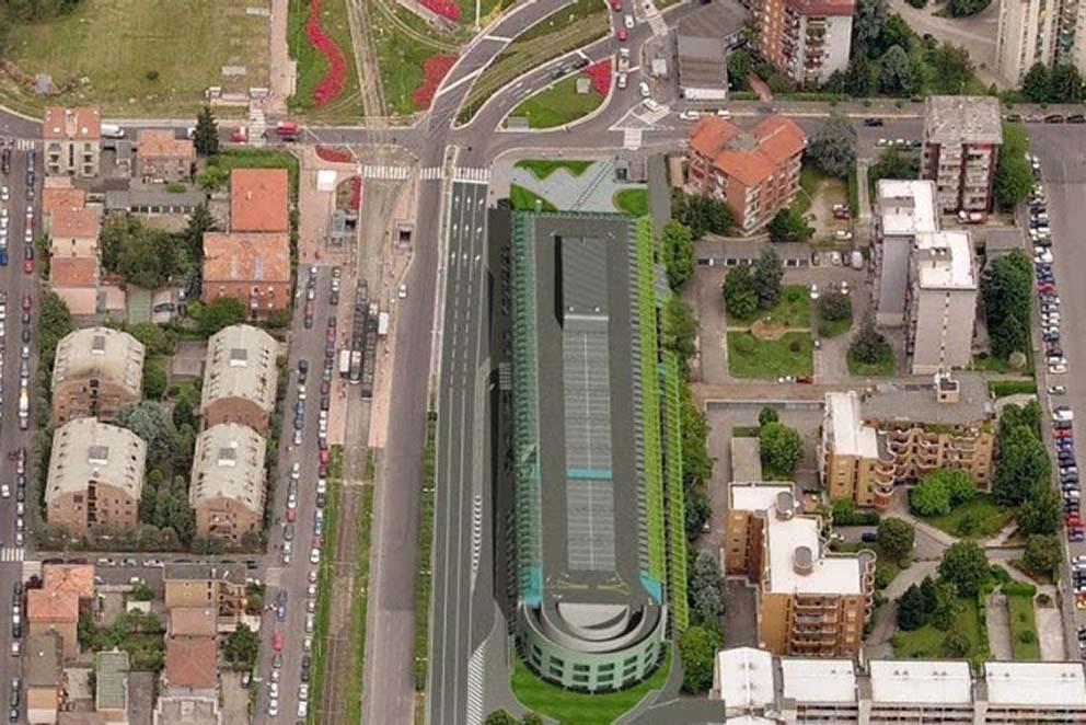 Chiesa Rossa Parcheggio Piazza Abbiategrasso progetto