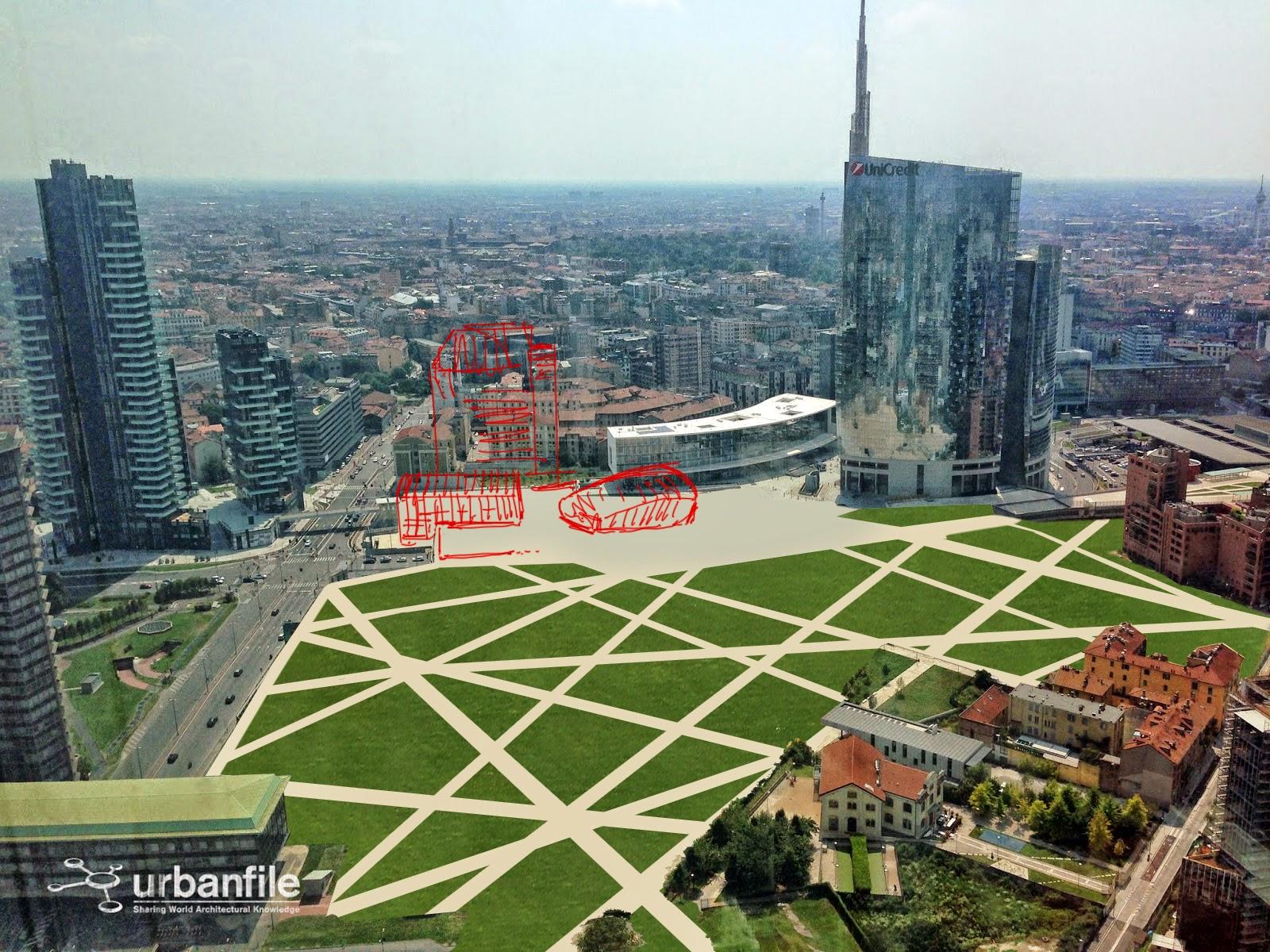 Milano porta nuova il parco di porta nuova urbanfile - Residenze di porta nuova ...