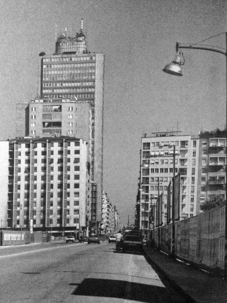 Viale Liberazione nel 1990