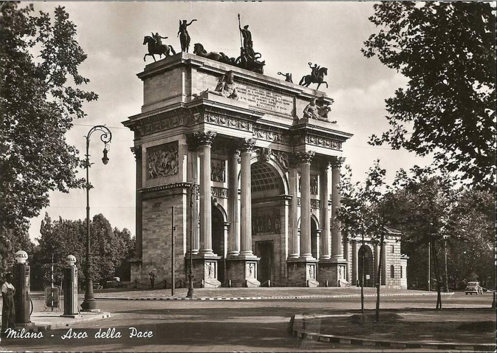 Old_Arco della Pace 1950