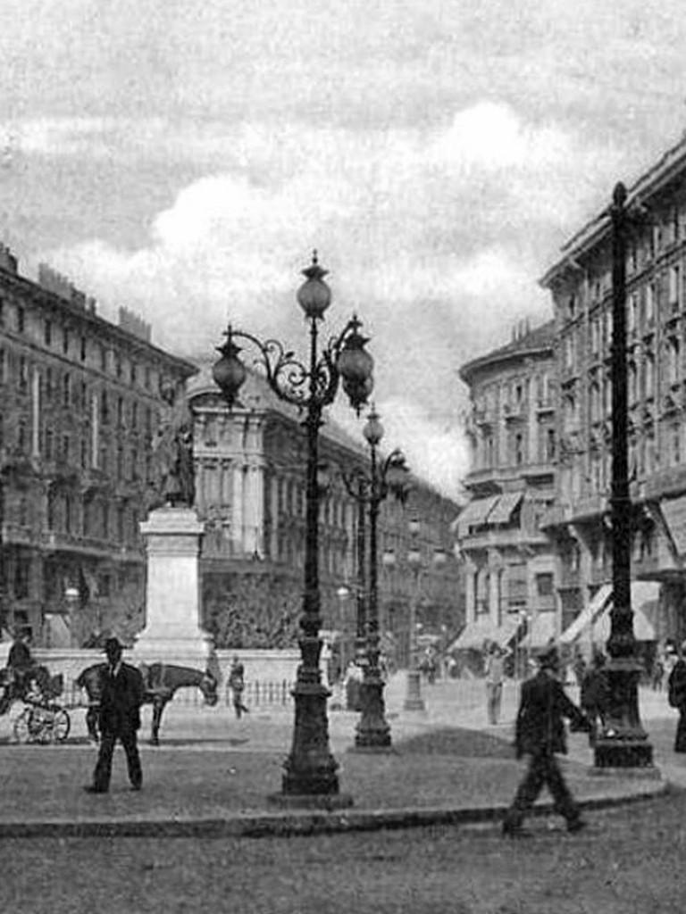 Old_Piazza Cordusio, primi 900