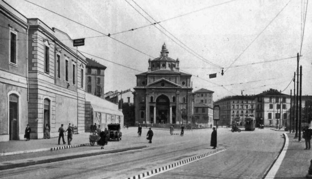 Stazione delle Varesine e chiesa di San Gioachimo