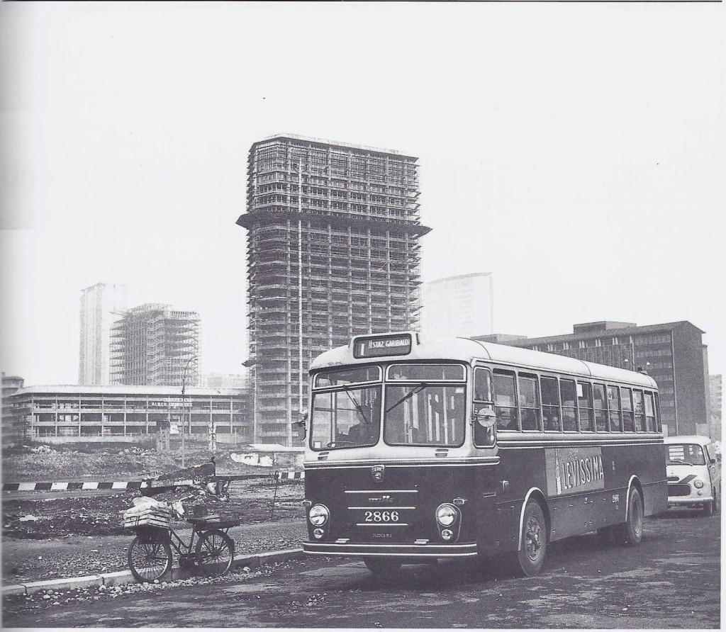 Viale Sturzo e la zona di Garibaldi nel 1963-65