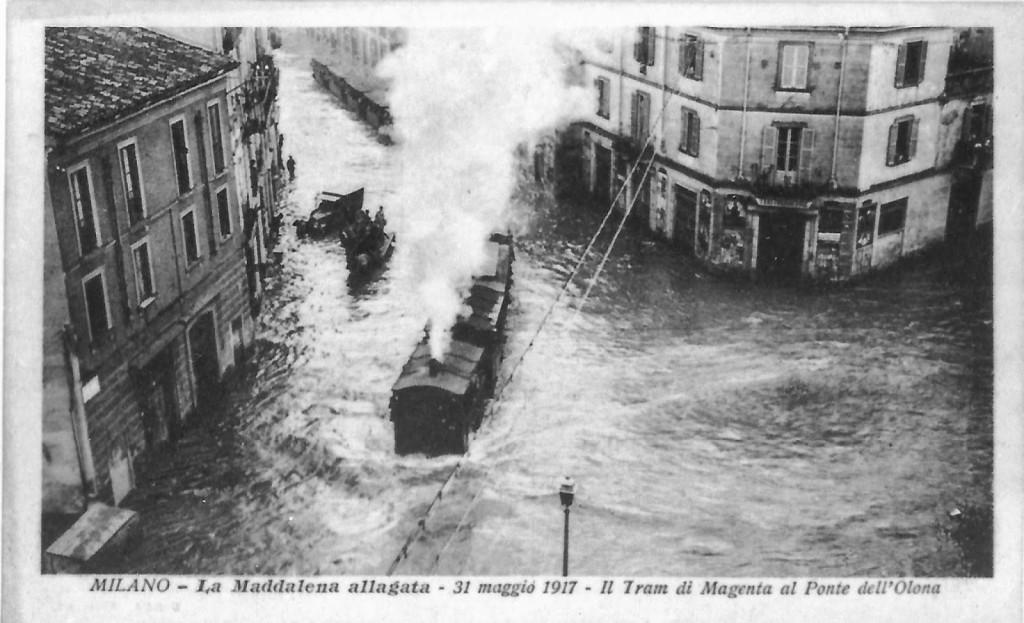 La Maddalena allagata 31 Maggio 1917 b
