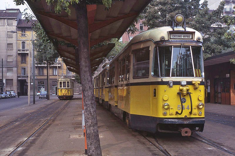 1967 tramway suburbain Piazza Aspromonte