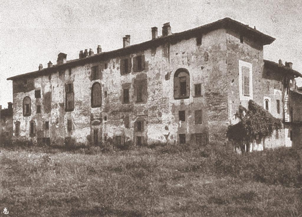 Cascina Boscaiola in Via della Boscaiola, veduta posteriore 1909