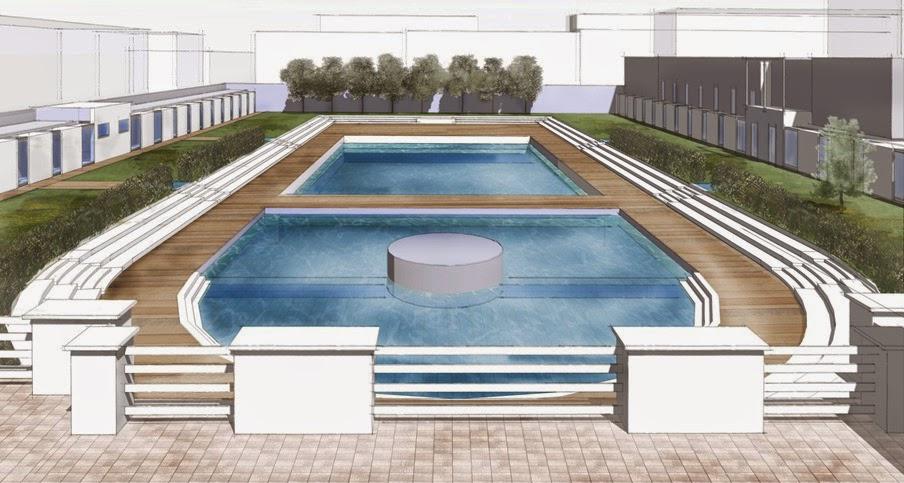 Milano porta romana partiti i lavori alla piscina - Piscine milano nuoto libero ...