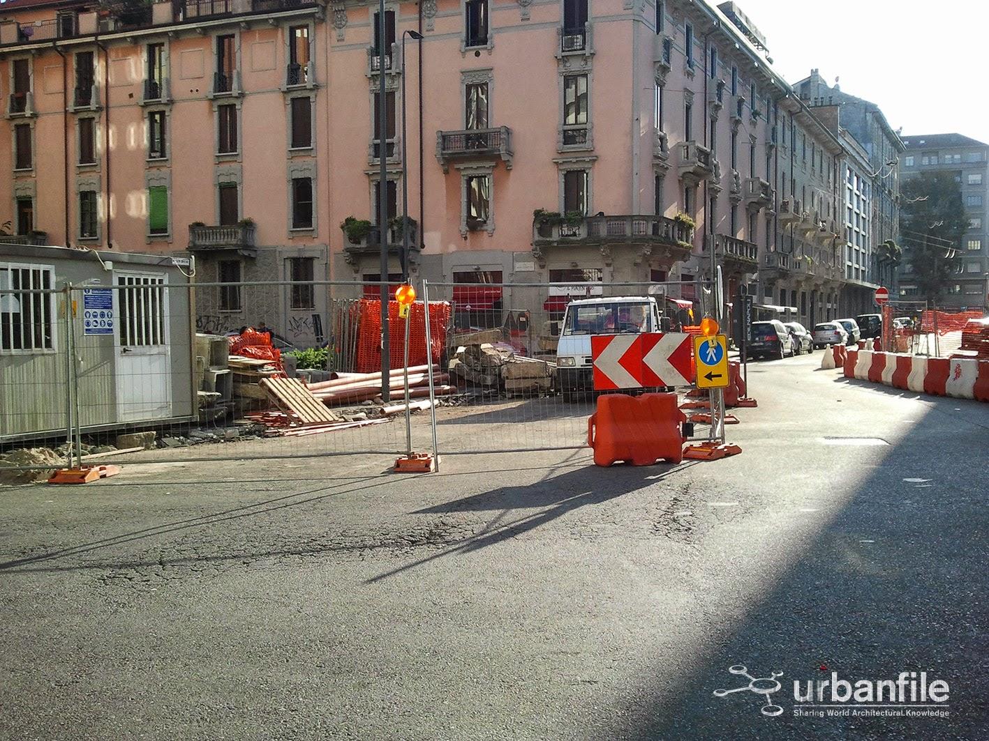 Milano porta romana partiti i lavori anche in via - Piscina porta romana milano ...