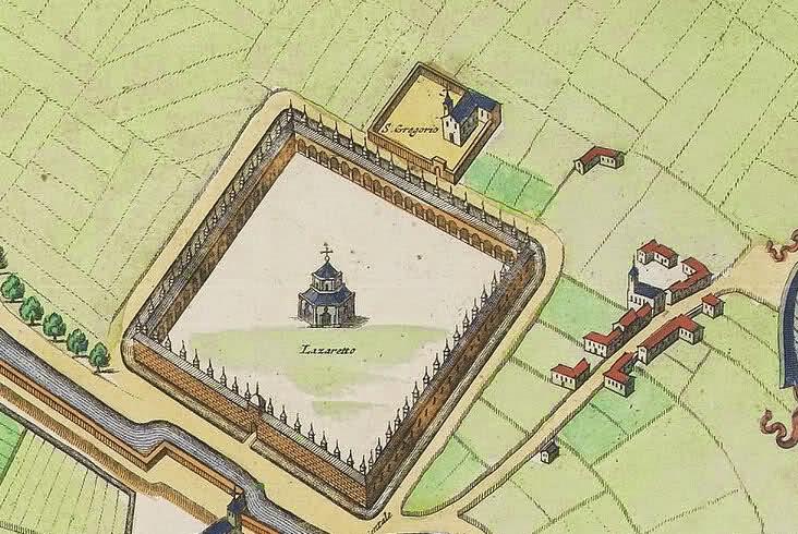 Lazzaretto e la chiesetta di San Gregorio