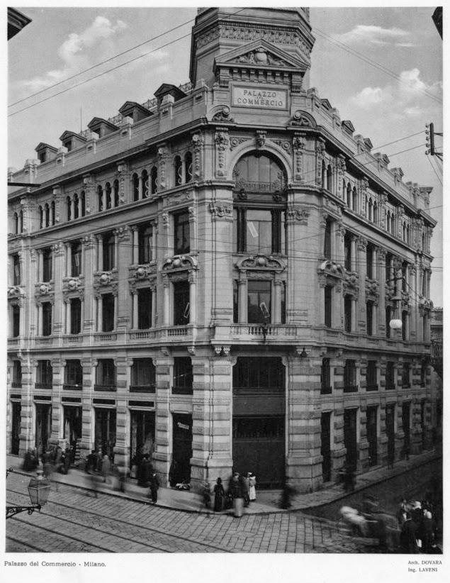 Palazzo del Commercio in via Torino