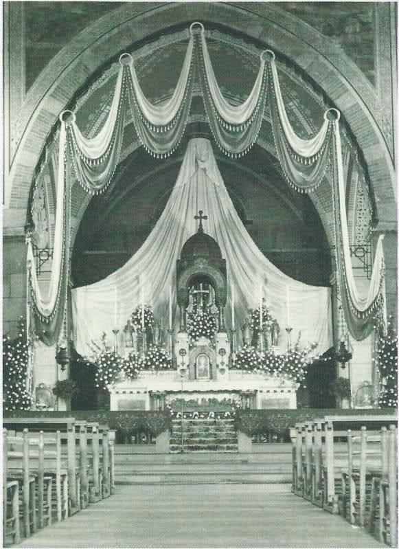 San Gregorio Magno 1910 Altare 1