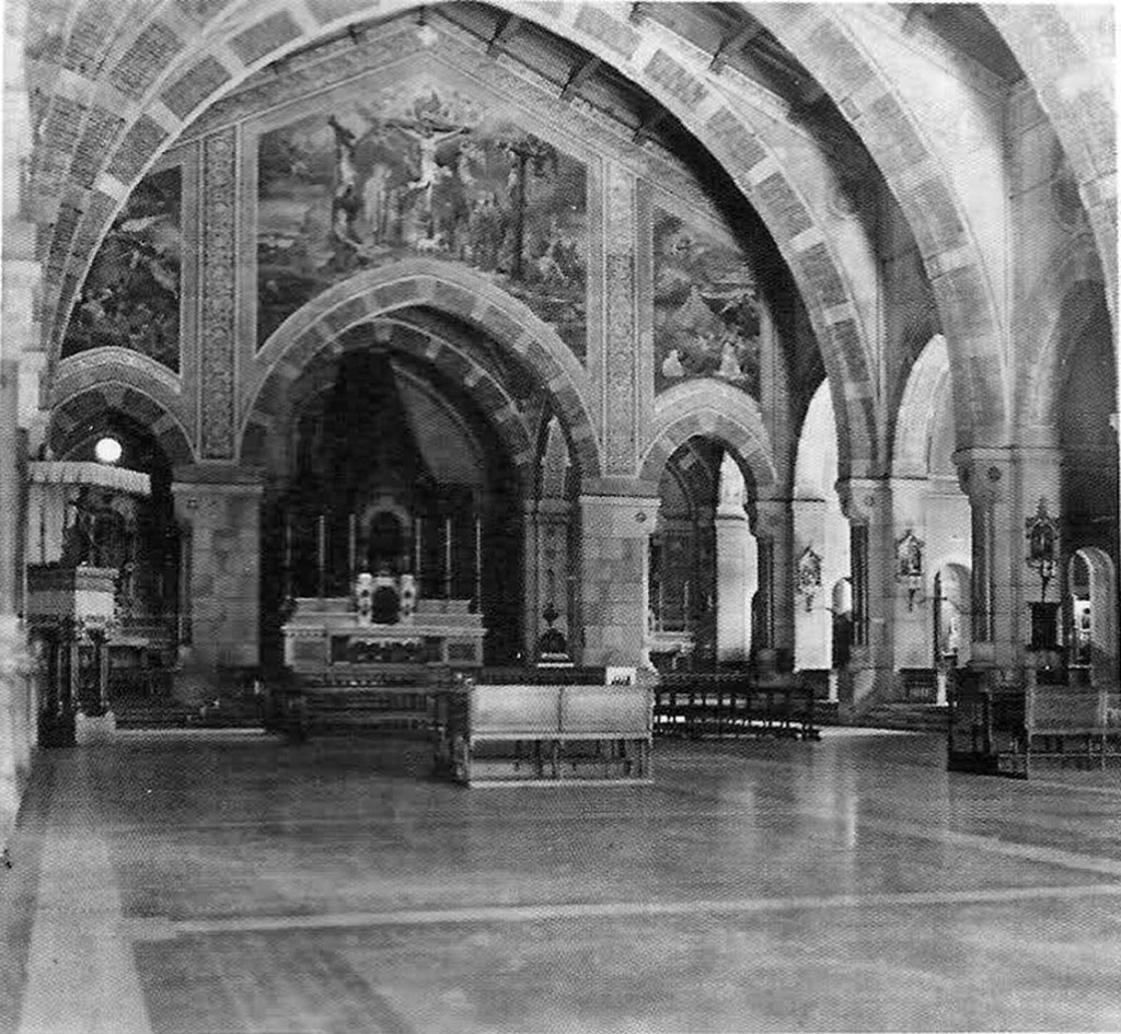 San Gregorio Magno 1910 Navata centrale