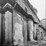 XB Santa Maria Alla Porta dopo i bombardamenti