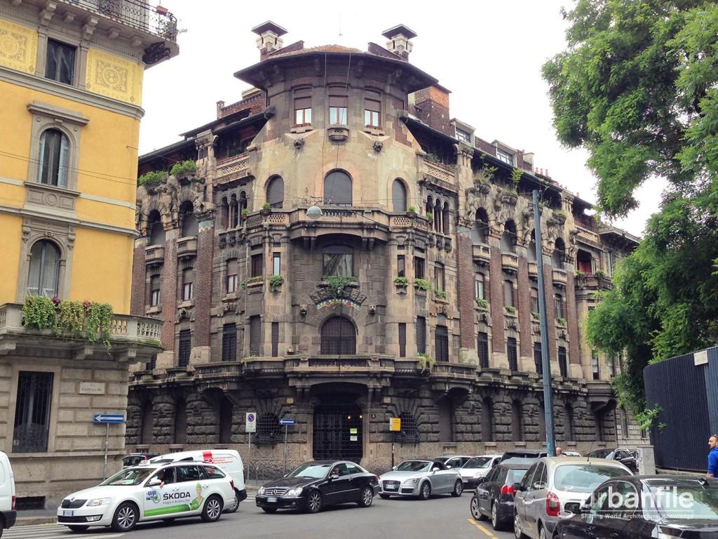 Casa Berri Meregalli Via Cappuccini 8 A