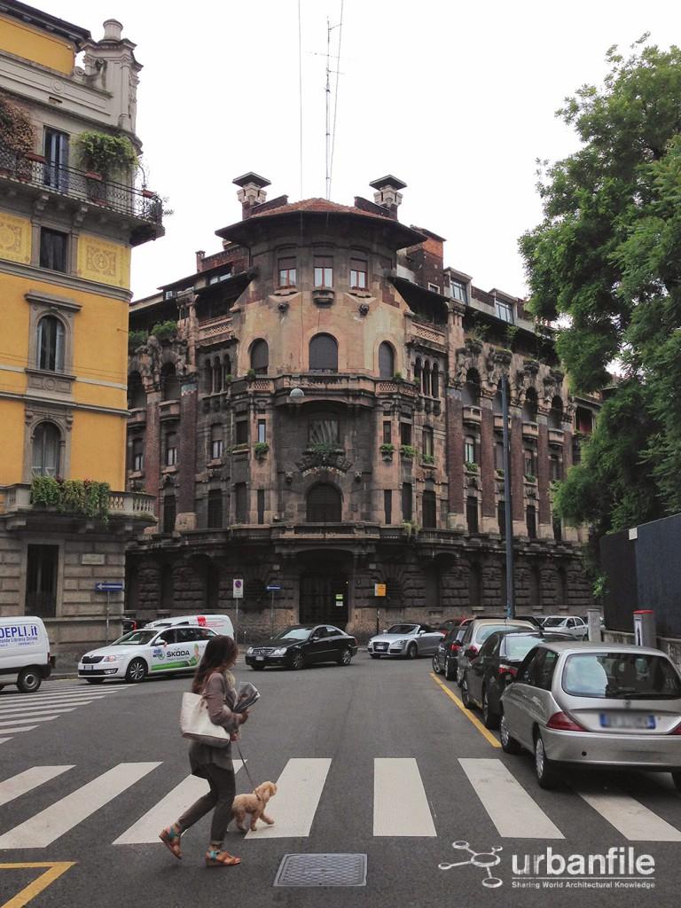 Casa Berri Meregalli Via Cappuccini 8 B