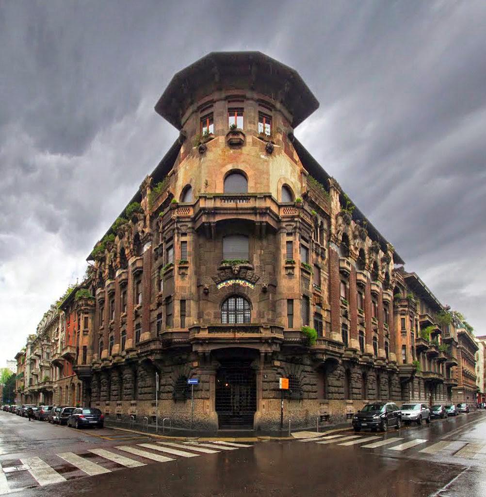 Casa Berri Meregalli Via Cappuccini 8 Facciata 0