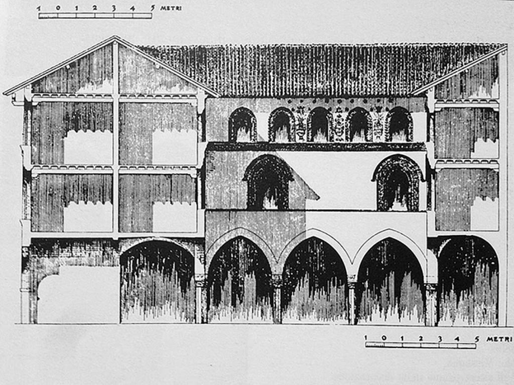 Casa dei Missaglia, prospetto cortile