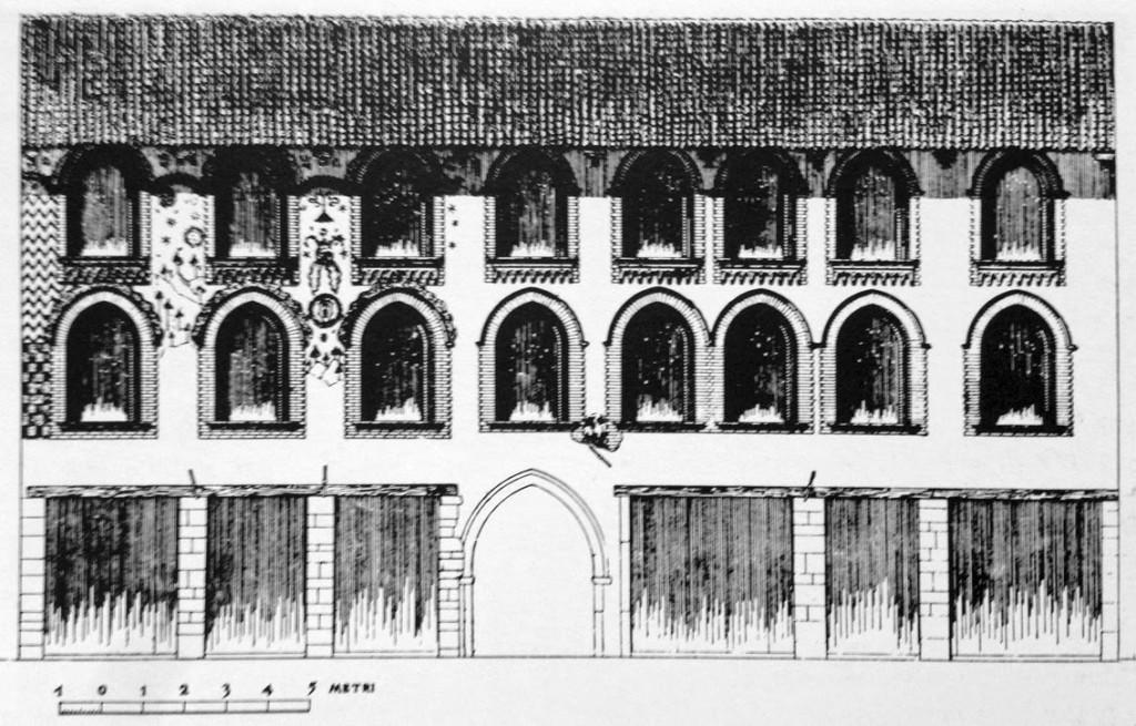 Casa dei Missaglia, prospetto su via Spadari